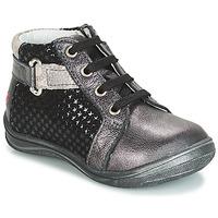 Shoes Girl Hi top trainers GBB RICHARDINE Black / Grey