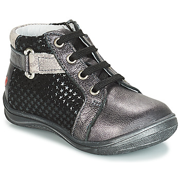 Shoes Girl Hi top trainers GBB RICHARDINE Black / Grey