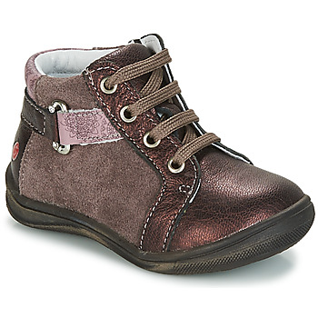 Shoes Girl Mid boots GBB RICHARDINE Brown / Bronze