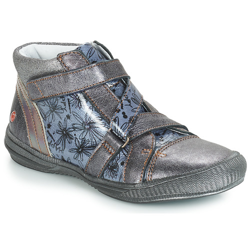 Shoes Girl Mid boots GBB RADEGONDE Girs / Blue