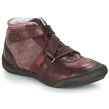 Shoes Girl Hi top trainers GBB RIQUETTE Brown / Bronze