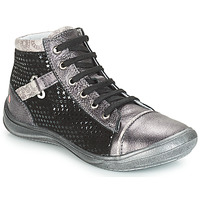 Shoes Girl Hi top trainers GBB ROMIE Grey / Black