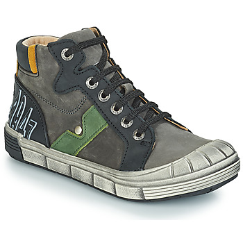 Shoes Boy Hi top trainers GBB RENZO Grey