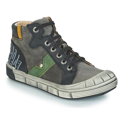 Shoes Boy Hi top trainers GBB RENZO Grey