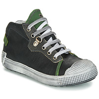 Shoes Boy Hi top trainers GBB RONALD Grey / Green