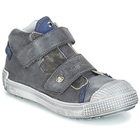 Shoes Boy Hi top trainers GBB ROMULUS Grey / Blue