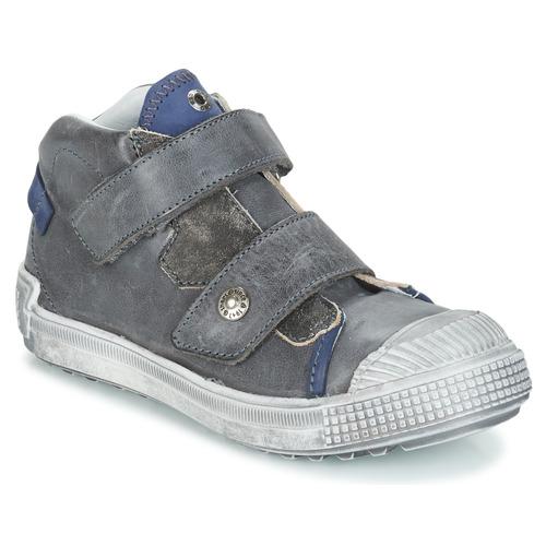 Shoes Boy Hi top trainers GBB ROMULUS Grey / Blue