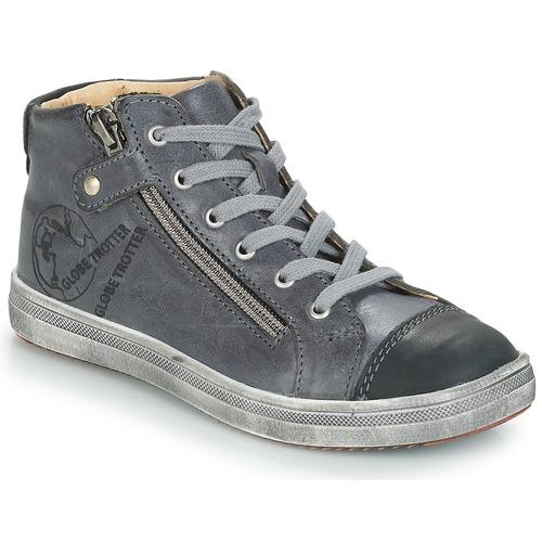 Shoes Boy Hi top trainers GBB NICO Grey
