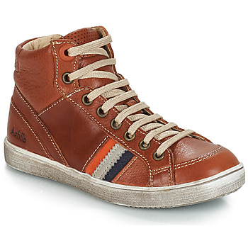 Shoes Boy Hi top trainers GBB ANGELO Brown