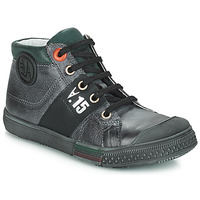 Shoes Boy Hi top trainers GBB RUFINO Grey