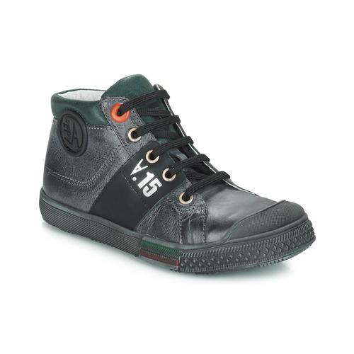 Shoes Boy Hi top trainers GBB RUFINO Grey