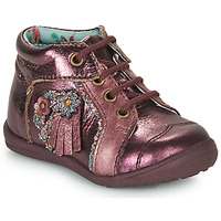 Shoes Girl Mid boots Catimini RAINETTE Bordeaux
