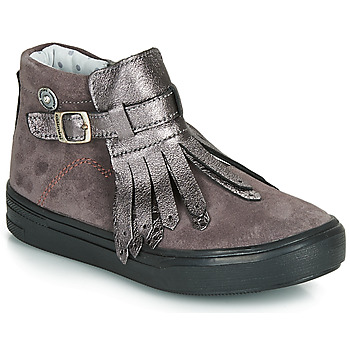 Shoes Girl Mid boots Catimini RUTABAGA Grey