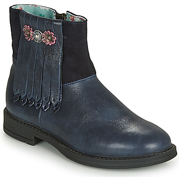 Shoes Girl High boots Catimini RENOUEE Blue