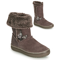 Shoes Girl High boots Catimini ROMA Brown