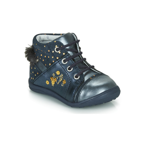 Shoes Girl Mid boots Catimini ROULETTE Marine