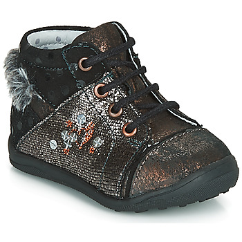 Shoes Girl Mid boots Catimini ROULETTE Black