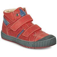 Shoes Boy Hi top trainers Catimini RAIFORT Red