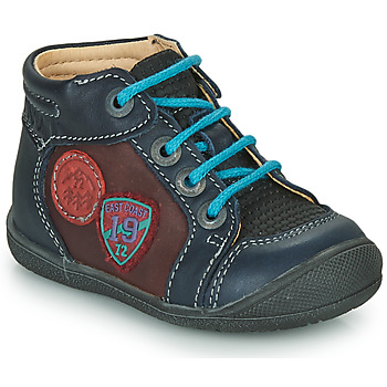 Shoes Boy Mid boots Catimini REGLISSE Marine