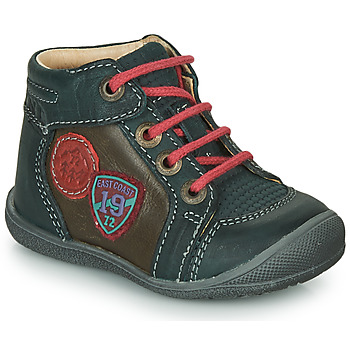 Shoes Boy Mid boots Catimini REGLISSE Green / Brown
