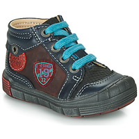Shoes Boy Hi top trainers Catimini ROCOU Marine / Bordeaux