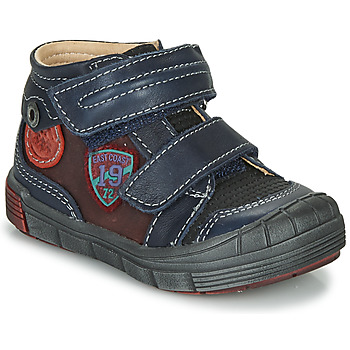 Shoes Boy Mid boots Catimini ROMARIN Marine / Bordeaux