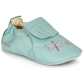 Shoes Girl Slippers Catimini RHIZINE Blue