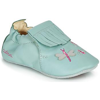 Shoes Girl Slippers Catimini RHIZINE Blue
