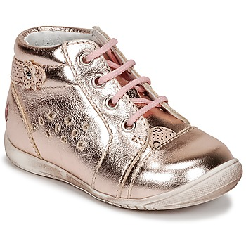Shoes Girl Low top trainers GBB SIDONIE Pink / Gold
