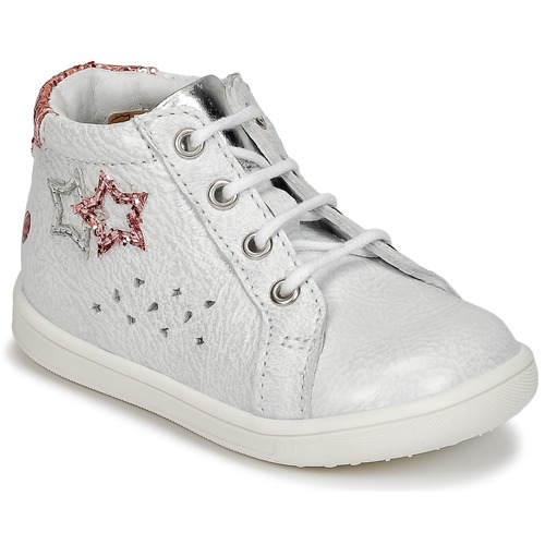 Shoes Girl Hi top trainers GBB SABBAH White