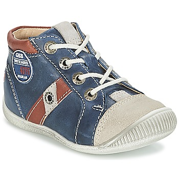 Shoes Boy Low top trainers GBB SILVIO Marine / Brown