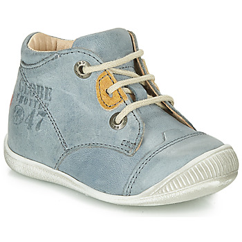 Shoes Boy Mid boots GBB SAMUEL Blue