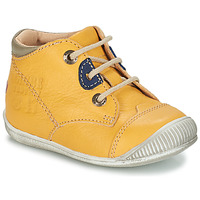 Shoes Boy Mid boots GBB SAMUEL Yellow