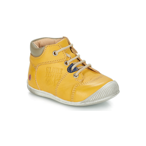 Shoes Boy Mid boots GBB SIMEON Yellow