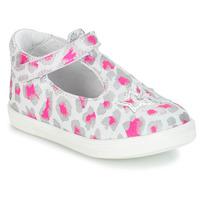 Shoes Girl Sandals GBB SABRINA Grey / Pink / White