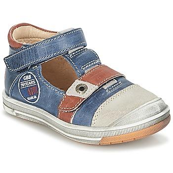 Shoes Boy Sandals GBB SOREL Marine / Brown