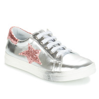 Shoes Girl Low top trainers GBB REBECCA Silver
