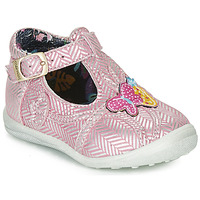 Shoes Girl Flat shoes Catimini SOLEIL Pink