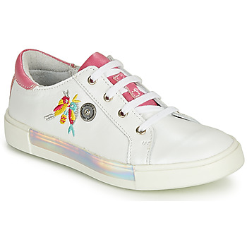 Shoes Girl Low top trainers Catimini SYLPHE White