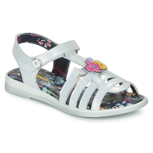 Shoes Girl Sandals Catimini SICALE Vte / Mother-of-pearl / Jemma