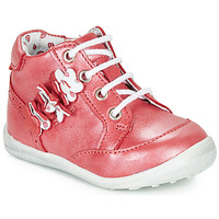 Shoes Girl Mid boots Catimini SOLDANELLE Red