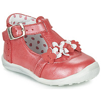 Shoes Girl Sandals Catimini SALICORNE Red