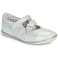 Shoes Girl Flat shoes Catimini STROPHAIRE Vte / Silver