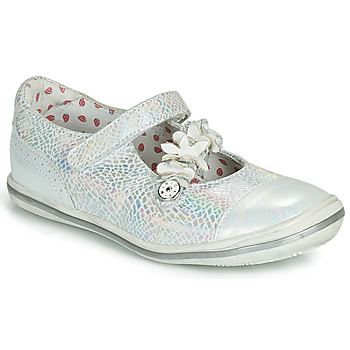 Shoes Girl Flat shoes Catimini STROPHAIRE Silver