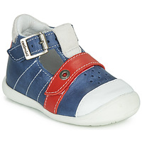 Shoes Boy Sandals Catimini SESAME Blue / Red