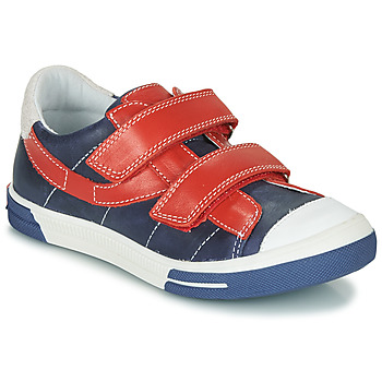 Shoes Boy Low top trainers Catimini SORBIER Marine / Red / White