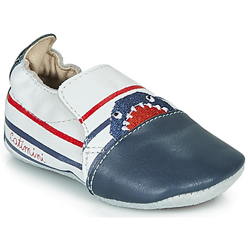 Shoes Boy Slippers Catimini SIMOCYBE Marine / White / Red