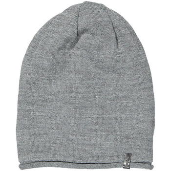 Clothes accessories Men Hats / Beanies / Bobble hats Wrangler Oversize Beanie - Mid Grey Melange Grey
