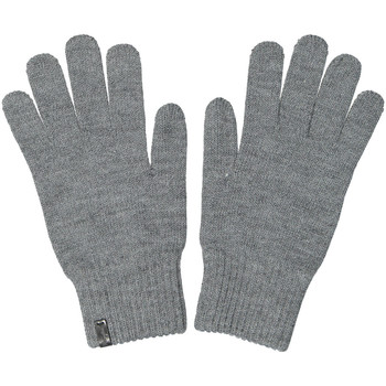 Clothes accessories Men Gloves Wrangler Basic Gloves - Mid Grey Melange Grey