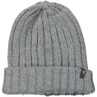 Clothes accessories Men Hats / Beanies / Bobble hats Wrangler Chunky Knit Beanie - Mid Grey Melange Grey